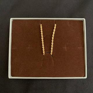 アヴァランチ(AVALANCHE)のK18 ロープチェーン (ネックレス)