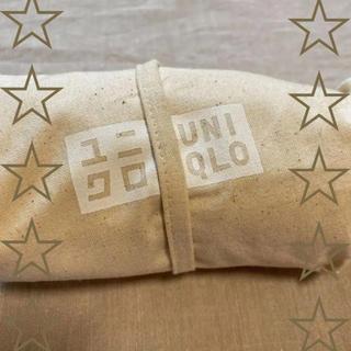 ユニクロ(UNIQLO)のユニクロ UNIQLO ノベルティ トートバッグ 生成り エコバッグにも☆(トートバッグ)