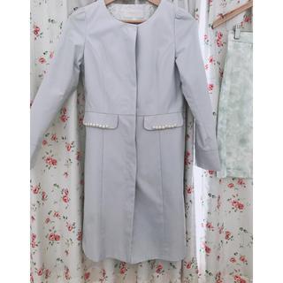 プロポーションボディドレッシング(PROPORTION BODY DRESSING)のノーカラーコート(スプリングコート)