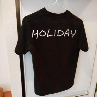 ホリデイ(holiday)の★HOLIDAY Tシャツ SUPER FINE T-SHIRT / BACK(Tシャツ(半袖/袖なし))