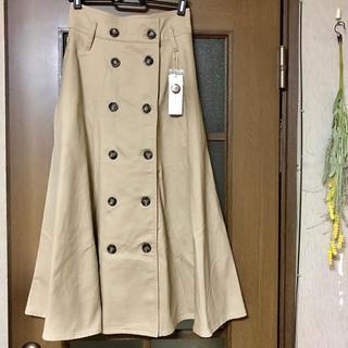 ミスティウーマン(mysty woman)のトレンチ スカート(ロングスカート)