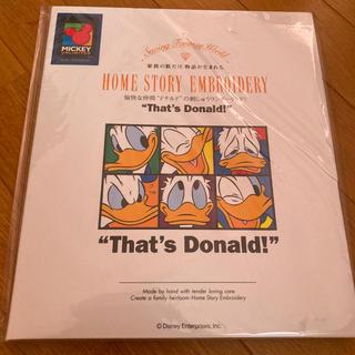 ディズニー(Disney)のブラザーミシン 刺繍カード ブラザー ドナルド(その他)