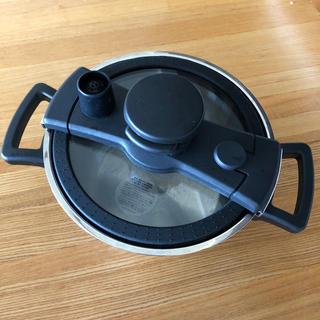 マイヤー(MEYER)のマイヤー クイッカークッキング 18cm 圧力鍋(鍋/フライパン)