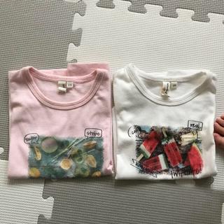 サマンサモスモス(SM2)のサマンサラーゴムTシャツ2枚(Tシャツ/カットソー)