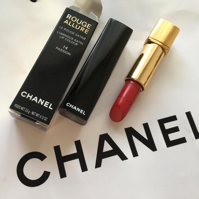 CHANEL(シャネル)のシャネル ルージュ アリュール 14 パシオン コスメ/美容のベースメイク/化粧品(口紅)の商品写真