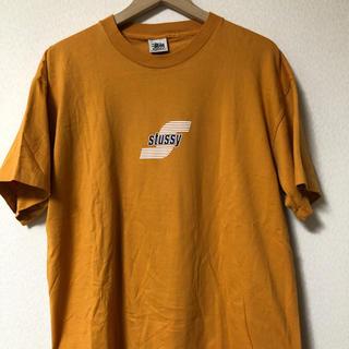 ステューシー(STUSSY)の【レア】90' STUSSY Tシャツ 白タグ イエロー M USA製(Tシャツ/カットソー(半袖/袖なし))