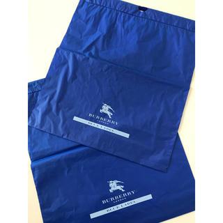 バーバリーブルーレーベル(BURBERRY BLUE LABEL)のバーバリー ビニール袋2枚(ショップ袋)