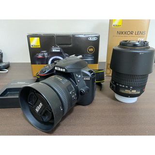Nikon - Nikon d3400 ダブルズームキット 付属品完備箱付き