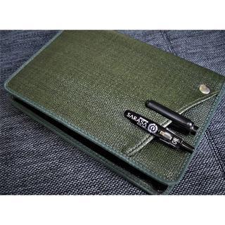 A6サイズ【2冊用Cover pocket手帳カバー】サニー■グリーン(その他)