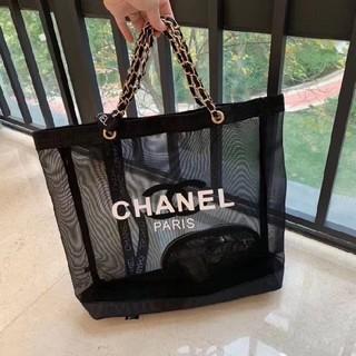 CHANEL - シャネル ノベルティ ショルダーバッグ·トートバッグ·クラッチバッグ black
