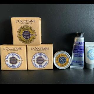 ロクシタン(L'OCCITANE)のロクシタンソープ3つ/シアバター/ハンドクリーム/クリーム(その他)