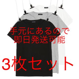 ピースマイナスワン(PEACEMINUSONE)のPMO 3PACK POCKET TSHIRTSBLACK GREY,WHITE(Tシャツ/カットソー(半袖/袖なし))