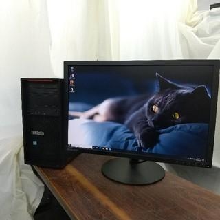 レノボ(Lenovo)のSSD120GB起動Core i5第6世代GTX1650搭載ゲーミングPC(デスクトップ型PC)