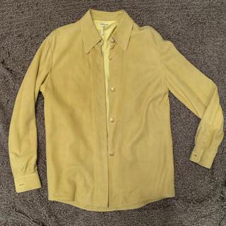 マルタンマルジェラ(Maison Martin Margiela)の(m様専用)Hermes マルジェラ期 レザーシャツ(レザージャケット)