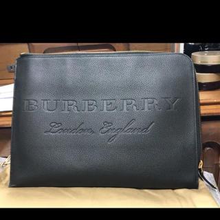 バーバリー(BURBERRY)のバーバリー  BURBERRY 本革 クラッチバック カバン 超美品(ビジネスバッグ)