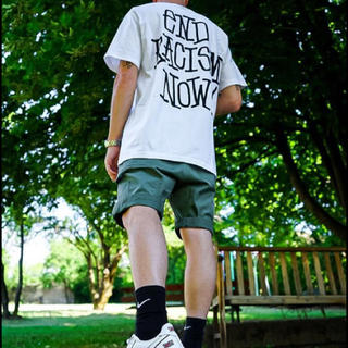ステューシー(STUSSY)のstussy  end  racism  tee(Tシャツ/カットソー(半袖/袖なし))