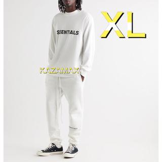 フィアオブゴッド(FEAR OF GOD)のFOG Essentials エッセンシャルズ ロンT ホワイト XL(Tシャツ/カットソー(七分/長袖))