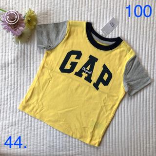 ベビーギャップ(babyGAP)の新品♡gap ロゴTシャツ イエロー(Tシャツ/カットソー)