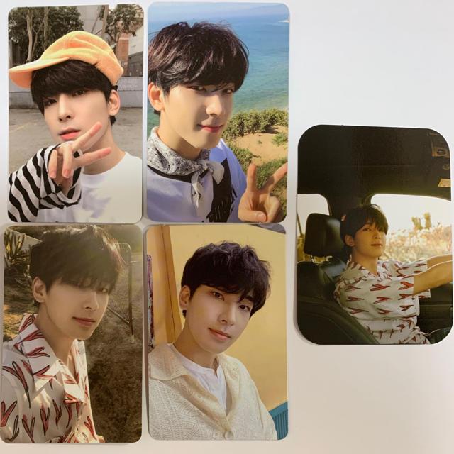 SEVENTEEN(セブンティーン)のSEVENTEEN ウォヌ ヘンガレ トレカ エンタメ/ホビーのCD(K-POP/アジア)の商品写真