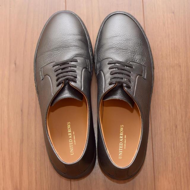 UNITED ARROWS(ユナイテッドアローズ)の<UNITED ARROWS> ダービースニーカー 42・ブラック メンズの靴/シューズ(ドレス/ビジネス)の商品写真