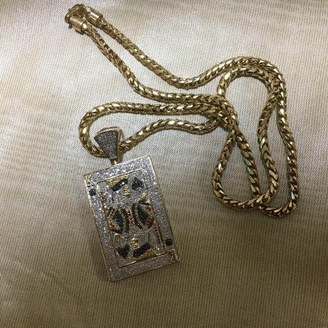 AVALANCHE(アヴァランチ)のトランプ ネックレス セット 10金 メンズのアクセサリー(ネックレス)の商品写真