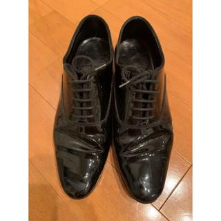 サンローラン(Saint Laurent)のサンローラン エナメル ドレスシューズ 36  23〜23.5cm(ローファー/革靴)