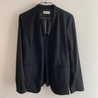 PLST - PLST ノーカラージャケット Lサイズ