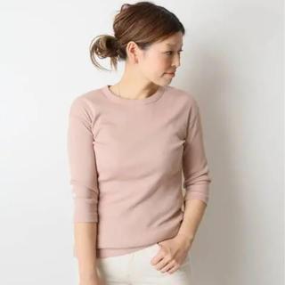 DEUXIEME CLASSE - Deuxieme Classe  RIB Tシャツ ピンク