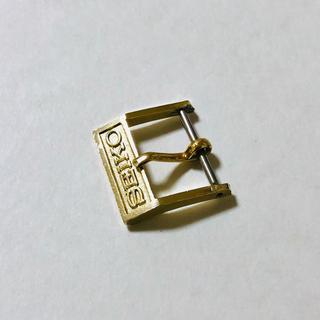 SEIKO - SEIKO セイコー 純正 アンティーク 尾錠 美錠 取付幅15mm 金色