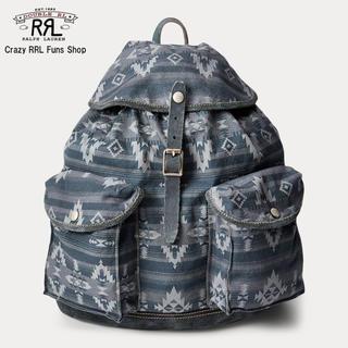 ダブルアールエル(RRL)の【新品】RRL Suede-Trimmed Canvas Rucksack(バッグパック/リュック)