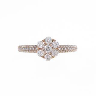 ポンテヴェキオ(PonteVecchio)のポンテヴェキオ ダイヤモンド フラワーリング(リング(指輪))