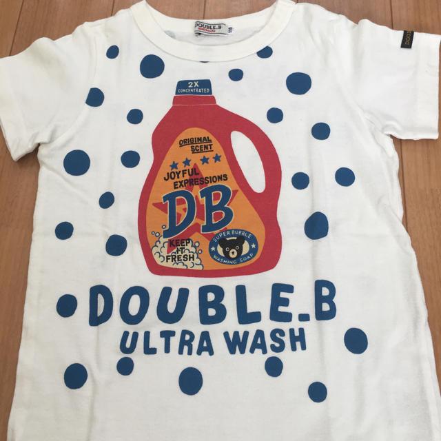 ダブルB110☆セット キッズ/ベビー/マタニティのキッズ服男の子用(90cm~)(Tシャツ/カットソー)の商品写真