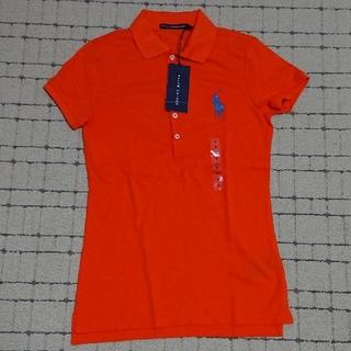 ラルフローレン(Ralph Lauren)の新品☆RALPH LAUREN☆ラルフローレン☆ポロシャツ☆オレンジ☆160☆S(Tシャツ/カットソー)