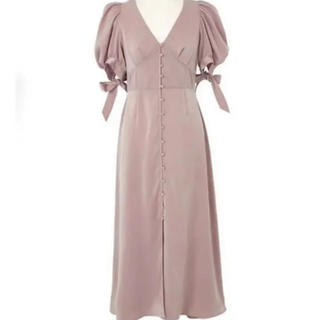 FRAY I.D - herlipto サテンレース ドレス Sサイズ