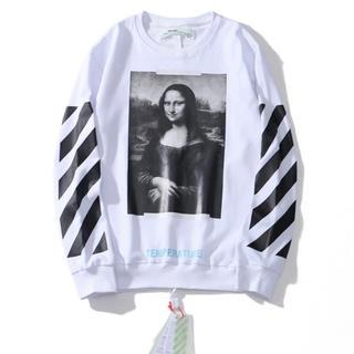 OFF-WHITE - Off white オフホワイト 白色 長袖Tシャツ トレーナー M