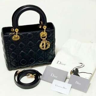 Dior - 極美品  Dior ディオール   バッグ  ladydior