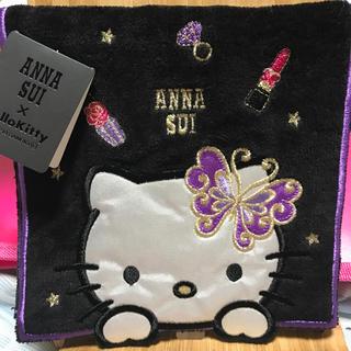 ANNA SUI - アナスイキティポケットハンカチ新品