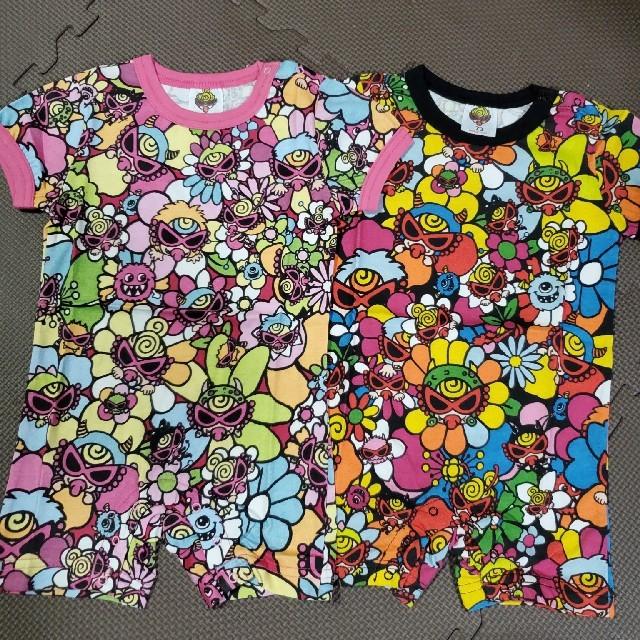 確認用 キッズ/ベビー/マタニティのベビー服(~85cm)(ロンパース)の商品写真