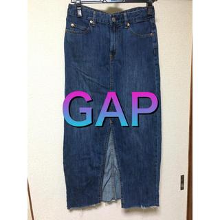 ギャップ(GAP)のGAP デニムロングスカート(ロングスカート)