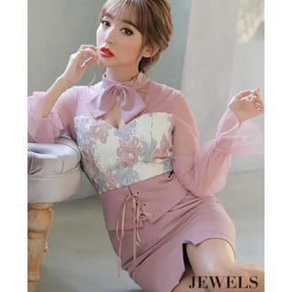 ジュエルズ(JEWELS)のJewels キャバ  ドレス(ミニドレス)