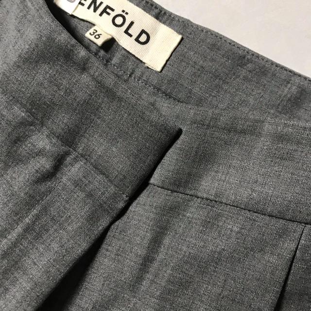 ENFOLD(エンフォルド)のENFOLD エンフォルド トロタック アンクルパンツ レディースのパンツ(カジュアルパンツ)の商品写真