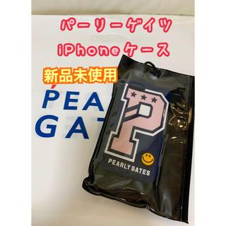 パーリーゲイツ(PEARLY GATES)のパーリーゲイツ 新品iPhoneケース iPhone6/7/8 スマホケース(iPhoneケース)