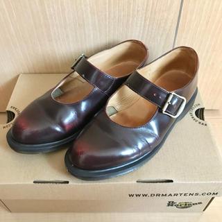 ドクターマーチン(Dr.Martens)のメリージェーン ワンストラップシューズ(ローファー/革靴)