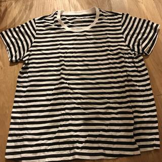 ムジルシリョウヒン(MUJI (無印良品))の無印良品 授乳 ボーダーTシャツ(マタニティトップス)