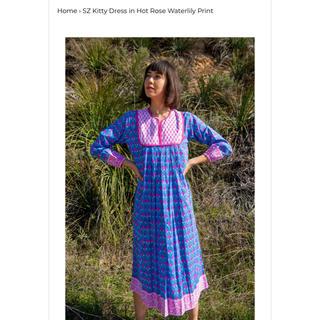 ロンハーマン(Ron Herman)の新品 SZ Blockprints kitty dress(ロングワンピース/マキシワンピース)