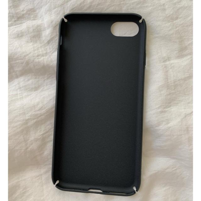 COMME des GARCONS(コムデギャルソン)のギャルソン ♡ iPhoneケース 7/8 シンプル ハード スマホ/家電/カメラのスマホアクセサリー(iPhoneケース)の商品写真
