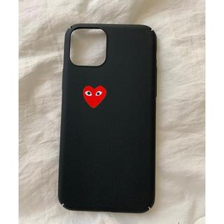 コムデギャルソン(COMME des GARCONS)のギャルソン ♡ iPhoneケース iPhone11pro シンプル(iPhoneケース)