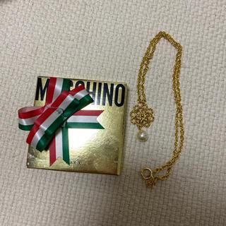 モスキーノ(MOSCHINO)のmoschino  モスキーノ ネックレス(ネックレス)
