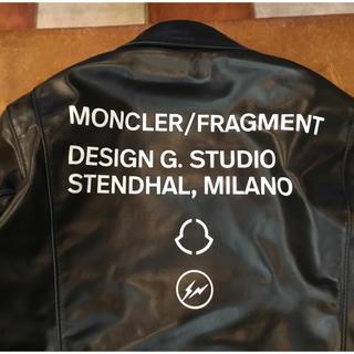 フラグメント(FRAGMENT)のmoncler×fragment×Lewis Leathers サイズ4 (ライダースジャケット)