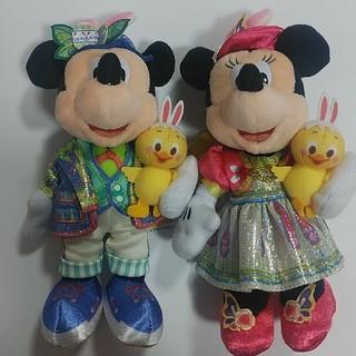 Disney - 【新品未使用】ディズニーイースター2020 ぬいぐるみバッジ ミッキー ミニー